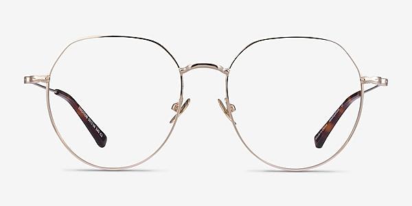 Emotion Light Gold Métal Montures de lunettes de vue