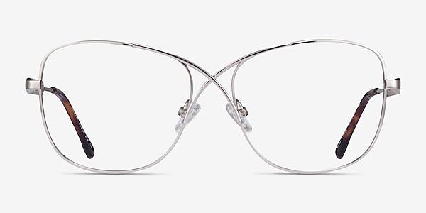 Movie Silver Metal Eyeglass Frames
