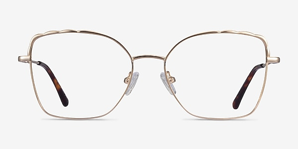 Rapture Doré Métal Montures de lunettes de vue