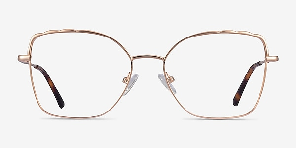 Rapture Rose Gold Metal Eyeglass Frames