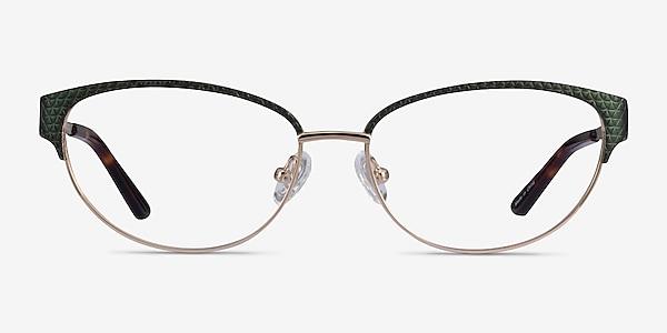 Experience Green Gold Métal Montures de lunettes de vue