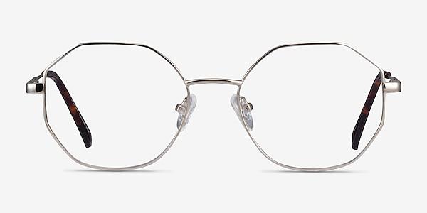 Astral Silver Metal Eyeglass Frames