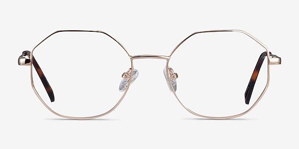 Astral Gold Metal Eyeglass Frames