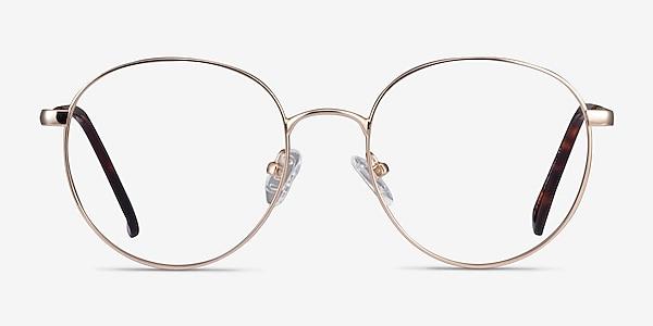 Haiku Gold Metal Eyeglass Frames