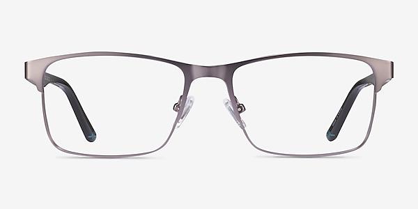 Carbon Matte Gunmatel Métal Montures de lunettes de vue