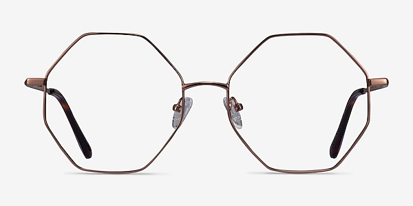 Imagine Bronze Métal Montures de lunettes de vue
