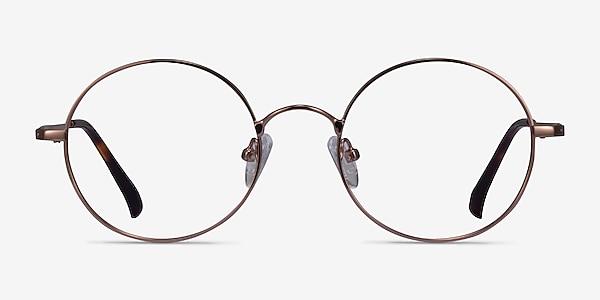 Lanscilo Bronze Métal Montures de lunettes de vue