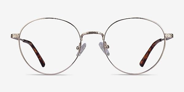 Wiz Gold Tortoise Metal Eyeglass Frames