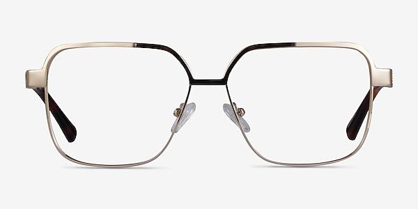 Gear Gold Metal Eyeglass Frames