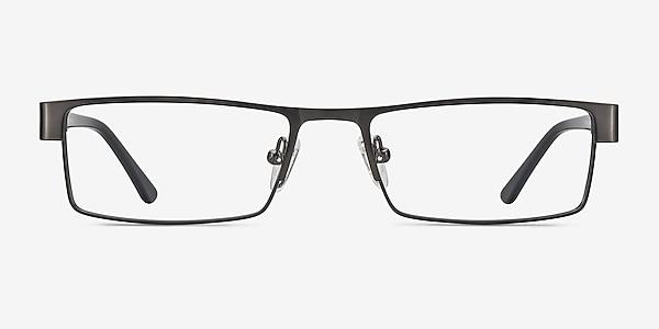 Bennett Gunmetal Metal Eyeglass Frames