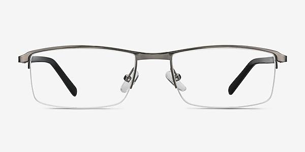 Mel  Gunmetal  Metal Eyeglass Frames
