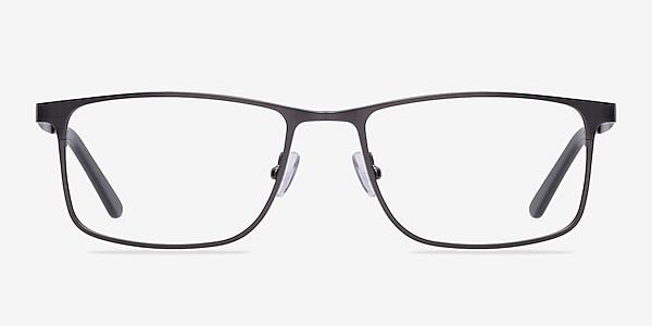 Clinton Gunmetal Metal Eyeglass Frames