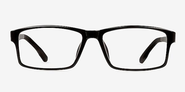 Bandon Black Plastic Eyeglass Frames