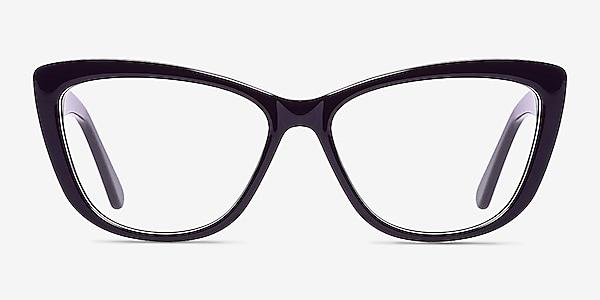 Charlotte Purple Acetate Eyeglass Frames