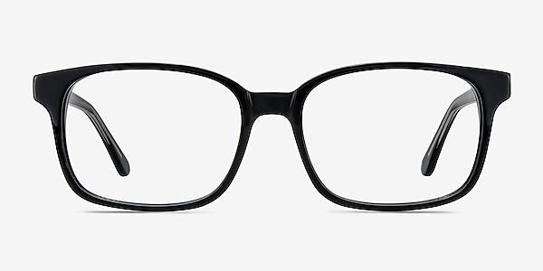 Claudia Noir Acétate Montures de lunettes de vue