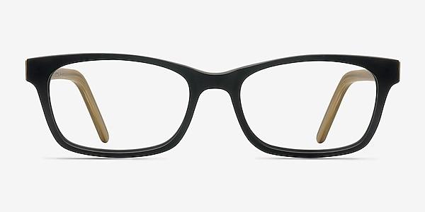 Mesquite  Black/Yellow Acétate Montures de lunettes de vue