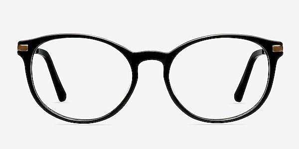 New Bedford Black Acetate-metal Eyeglass Frames