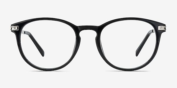 Daphne Black Plastic-metal Eyeglass Frames