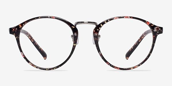 Chillax Red/Floral Plastic Eyeglass Frames