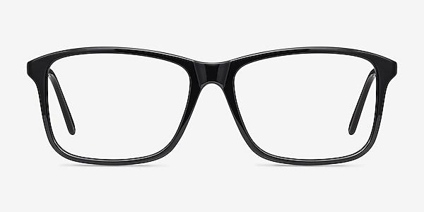 Pablo Black Plastic Eyeglass Frames