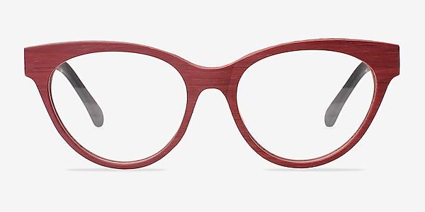 Jane Birkin Berry Red Acetate Eyeglass Frames