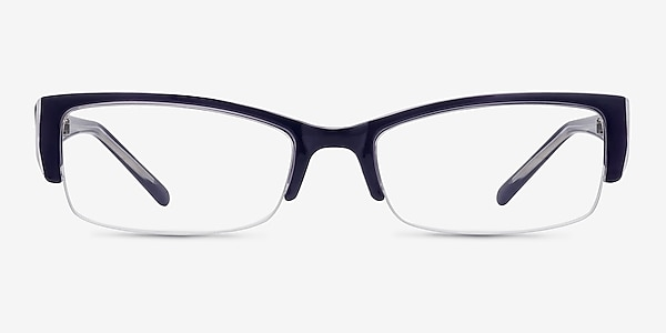 Diane Navy Plastic Eyeglass Frames