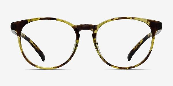 Chilling Tortoise Plastic Eyeglass Frames