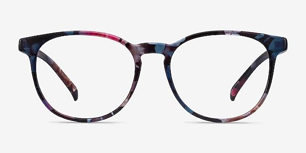 Chilling Pink/Floral Plastic Eyeglass Frames