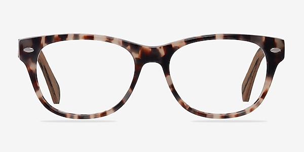 Amber Ivory/Tortoise Acetate Eyeglass Frames