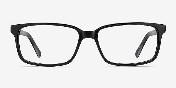 Denny Black/Gray Acetate Eyeglass Frames