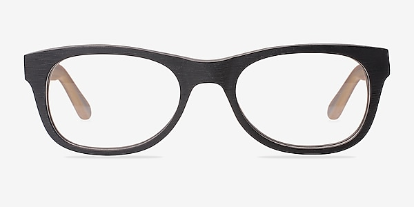 Little Panama Black Acetate Eyeglass Frames