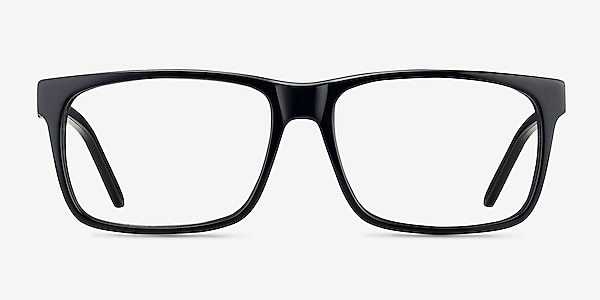 Sydney Black Acetate Eyeglass Frames