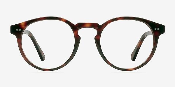 Theory Warm Tortoise Acetate Eyeglass Frames