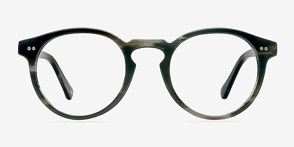 Theory Striped Granite Acetate Eyeglass Frames