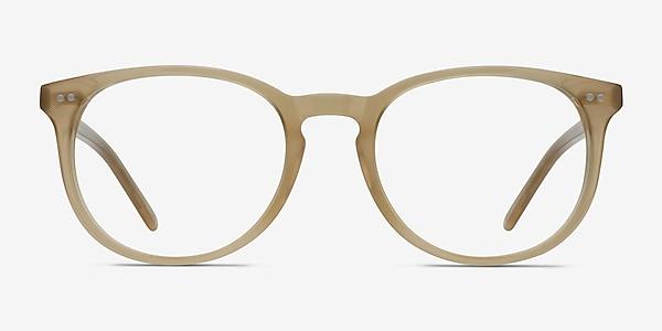 Aura Matte Champagne Acétate Montures de lunettes de vue