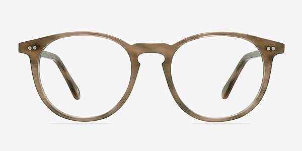 Prism Chestnut Acetate Eyeglass Frames