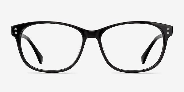 Delight Black Acetate Eyeglass Frames