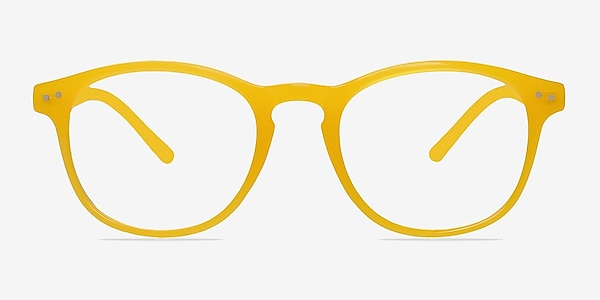 Instant Crush Yellow Plastic Eyeglass Frames