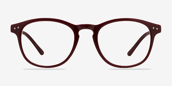 Instant Crush Red Plastic Eyeglass Frames
