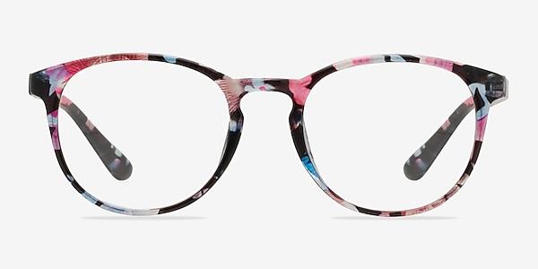 Muse Pink Floral Plastique Montures de lunettes de vue