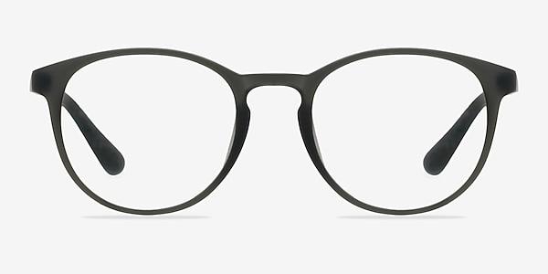 Muse Matte Gray Plastic Eyeglass Frames