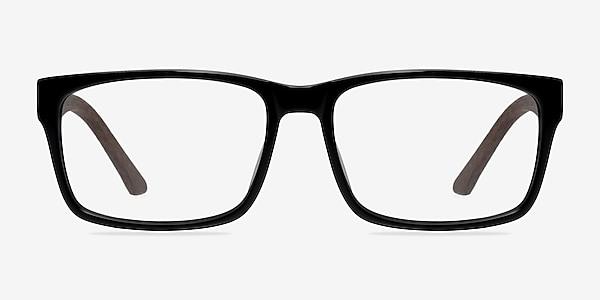 Lexington Black/brown Acétate Montures de lunettes de vue