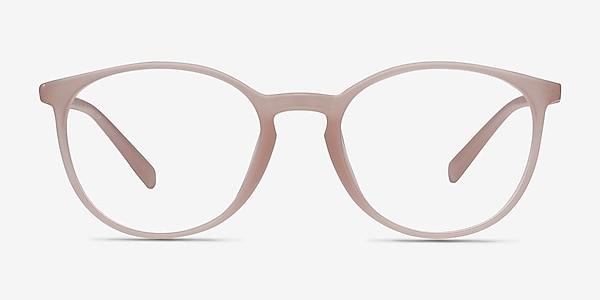 Dinah Matte Pink Plastic Eyeglass Frames
