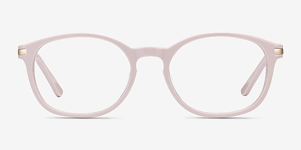 New Bedford Faded Rose Acetate-metal Montures de lunettes de vue