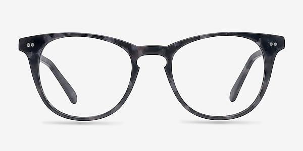 Flume Gray Floral Acétate Montures de lunettes de vue