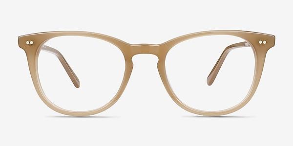 Flume Taupe Acétate Montures de lunettes de vue