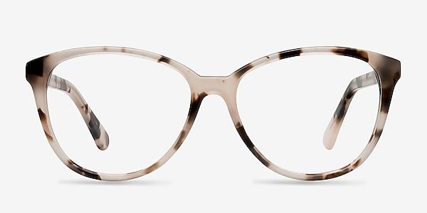 Hepburn Ivory Tortoise Acétate Montures de lunettes de vue