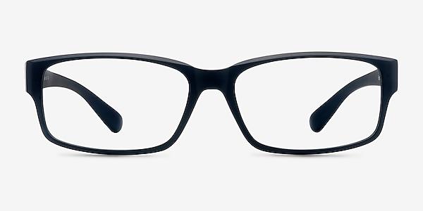 Apollo Matte Navy Plastic Eyeglass Frames