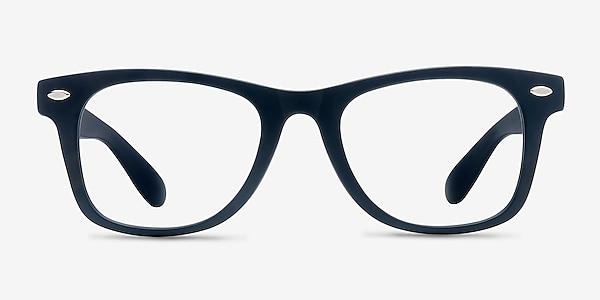 Atlee Matte navy Plastic Eyeglass Frames