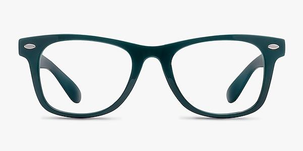 Atlee Green Plastic Eyeglass Frames